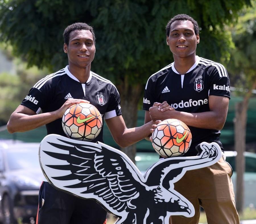 Nazim ja Kalim Amokachi siirtyvät vuoden sopimuksilla turkkilaisen jalkapallon jättiseuraan Besiktasiin.