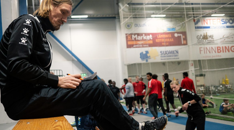 päävalmentaja Mikko Isokangas